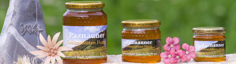 Paznauner Gebirgsblüten Honig