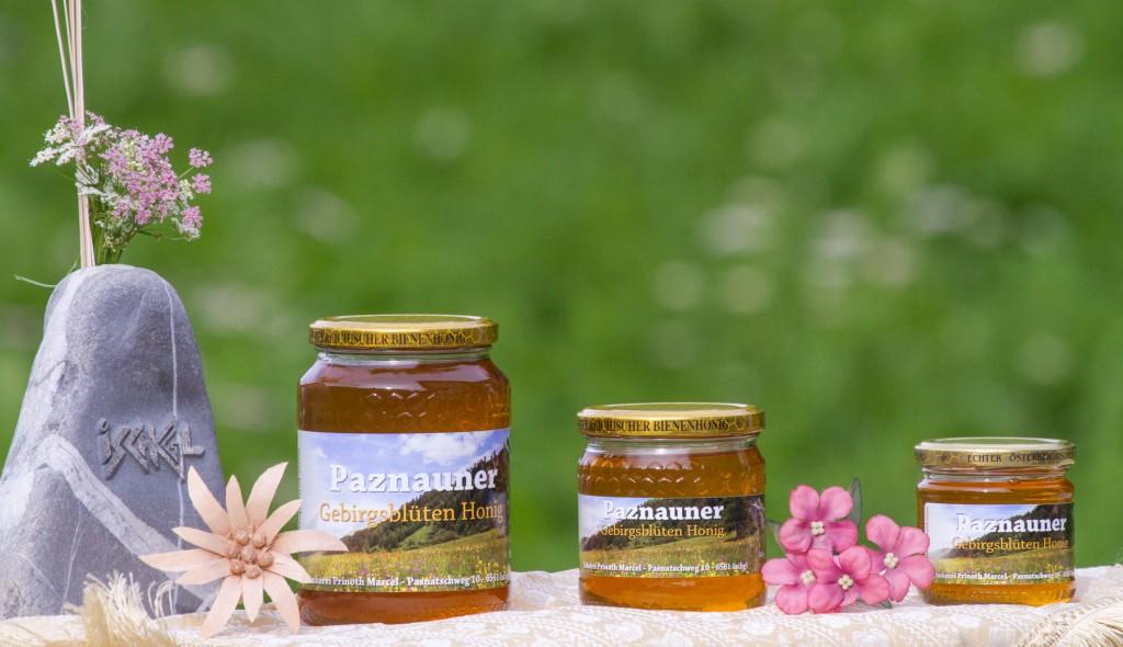 Gebirgsblüten Honig - Imkerei Prinoth Marcel