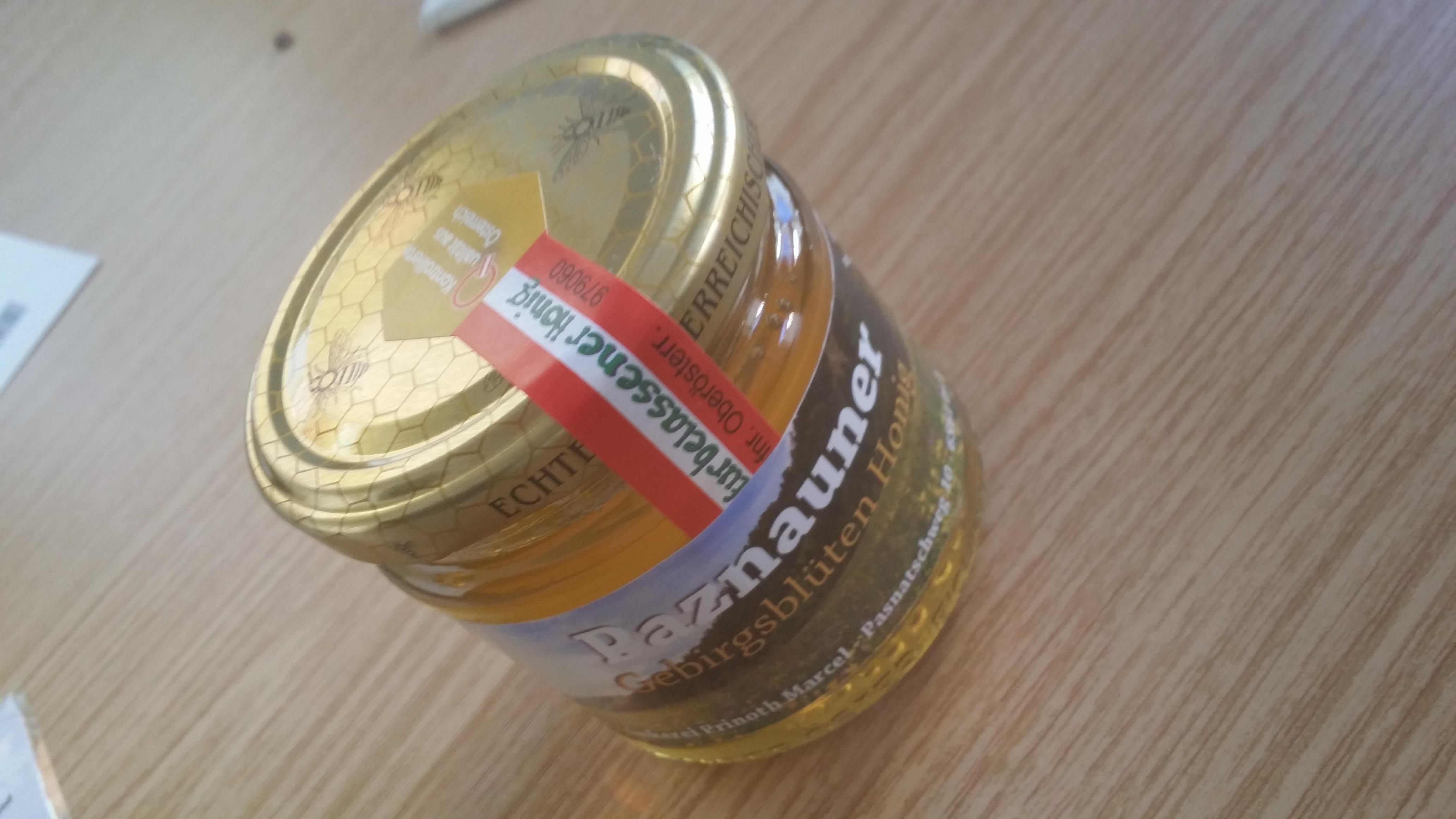 Gebirgsblüten Honig mit Goldauszeichnung